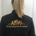 Borduur voorbeeld AMVO achterkant